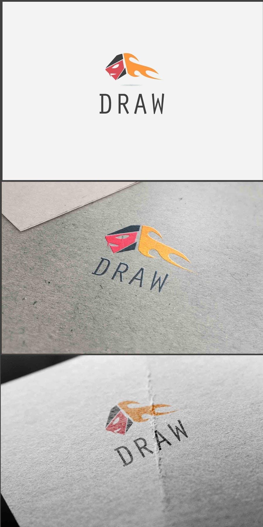 Kilpailutyö #10 kilpailussa Design a Logo for League of Legend team 'DRAW'