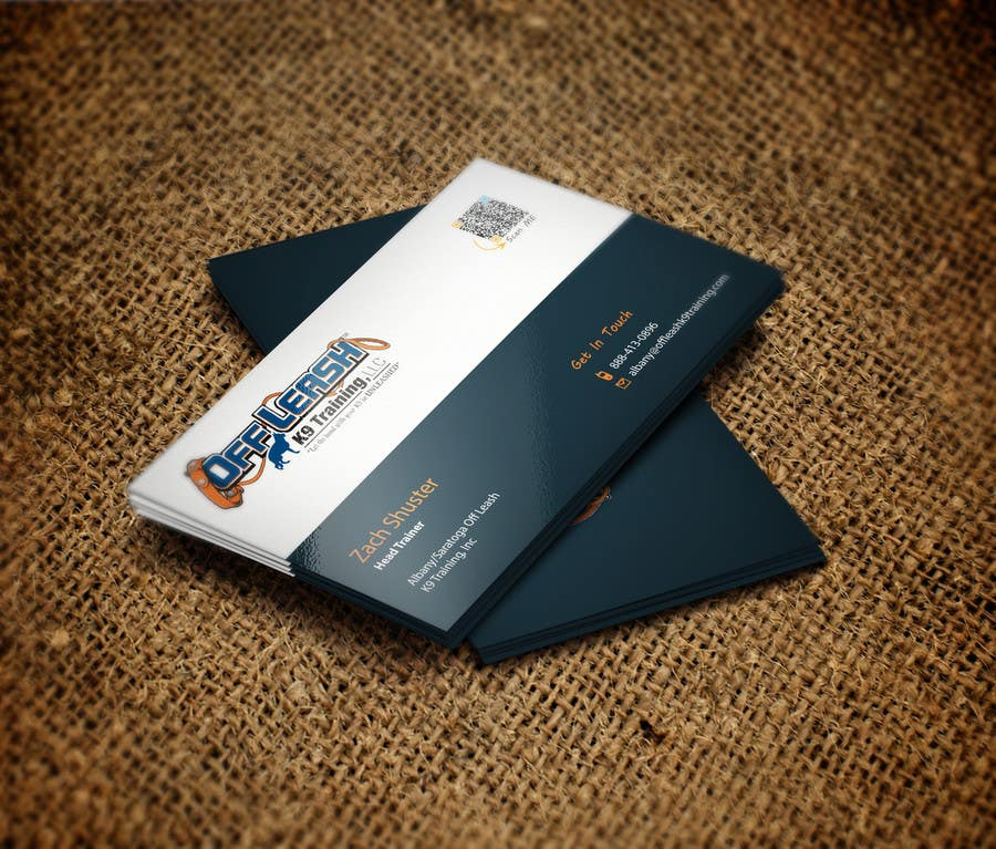 Entry #39 by syednazmulhaque for Dog Trainer Business Card | Freelancer