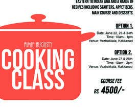 #12 for Design a Flyer for Cooking Class af karlagulanes