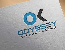 #66 untuk Design a Logo for kiteboarding brand called Odyssey Kiteboarding oleh sagorak47
