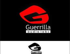 Nro 35 kilpailuun Design a Logo for Guerrilla Audio Labs käyttäjältä Deeartworker
