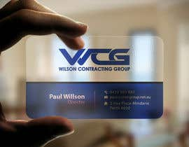 #78 for Design some Business Cards for WCG by imtiazmahmud80