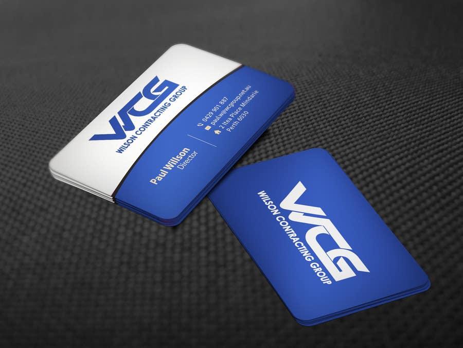 Kilpailutyö #86 kilpailussa Design some Business Cards for WCG