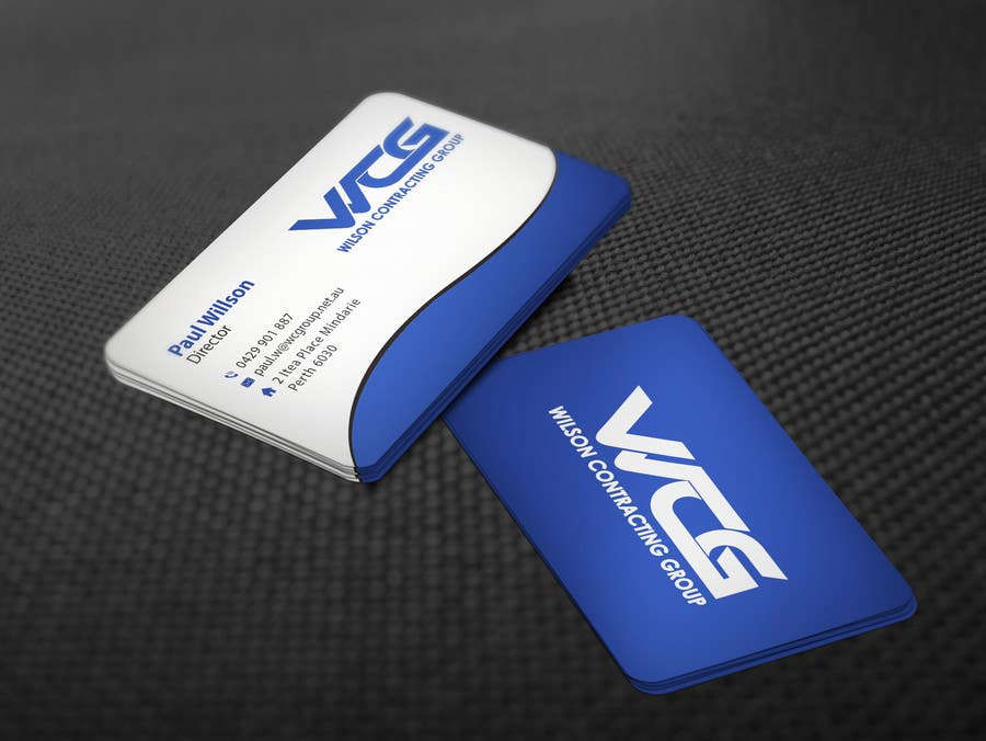 Kilpailutyö #90 kilpailussa Design some Business Cards for WCG