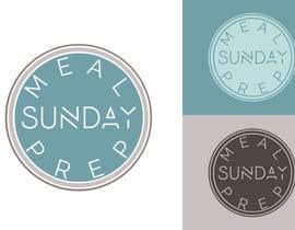 Nro 9 kilpailuun Design a Logo for 'Meal Prep Sunday' käyttäjältä vladspataroiu