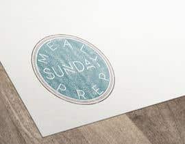 Nro 22 kilpailuun Design a Logo for 'Meal Prep Sunday' käyttäjältä vladspataroiu