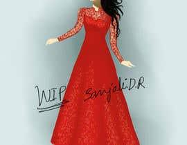 #17 for Drawing of a woman af sanjalivaishnavi