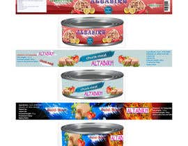 Ahldes tarafından Canned Tuna label 3 different design. için no 3