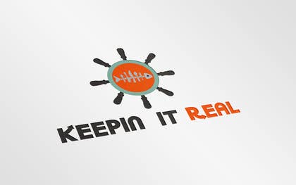 "#110 untuk Design a Logo for ""Keepin' it Real"" oleh adityapathania"