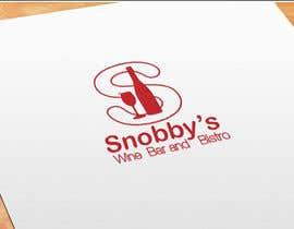 #78 untuk Design a Logo for Snobby's Wine Bar and Bistro oleh topprofessional