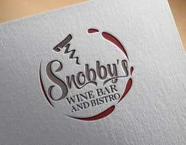 Nro 63 kilpailuun Design a Logo for Snobby's Wine Bar and Bistro käyttäjältä vladspataroiu