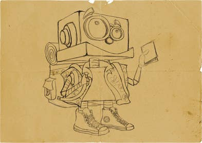 #1 for Ilustrar un robot amable af bouchtiba23