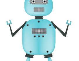 #9 for Ilustrar un robot amable af Letigallo
