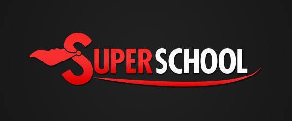 Kilpailutyö #79 kilpailussa Design a Logo for superschool