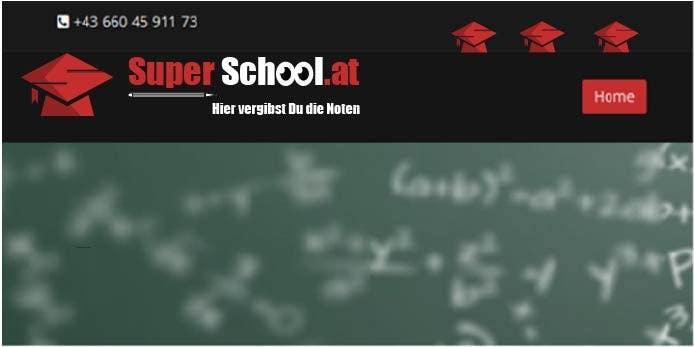 Kilpailutyö #61 kilpailussa Design a Logo for superschool