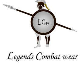 #4 for Design a warrior logo for Legends Combat Wear af CGproductions
