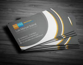 #35 untuk Design a vertical (two sides)Business Card + horizontal Business Card (two sides) for Emotion Marketing oleh Fgny85