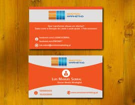 #43 untuk Design a vertical (two sides)Business Card + horizontal Business Card (two sides) for Emotion Marketing oleh sanratul001
