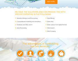 #24 for One page responsive website by aryamaity