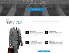 #12 untuk Design a Website Mockup for http://www.marinolaw.org oleh websoft07