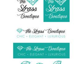 #64 for Design a Logo for The Strass Boutique by rebeckanova