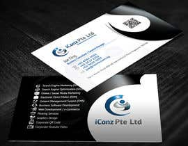#31 para Design some Business Cards for iConz Pte Ltd por creationz2011