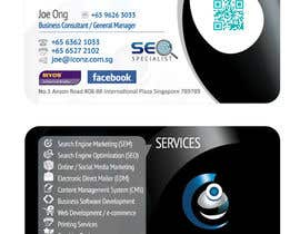 #35 para Design some Business Cards for iConz Pte Ltd por creationz2011