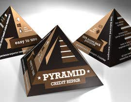 #2 for Create Print and Packaging Design for Pyramid Shaped Box - [Software Packaging] by peshan