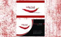 Graphic Design Kilpailutyö #25 kilpailuun Design some Business Cards for www.indianfood.ro
