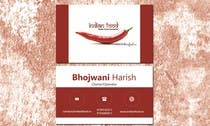 Graphic Design Kilpailutyö #30 kilpailuun Design some Business Cards for www.indianfood.ro