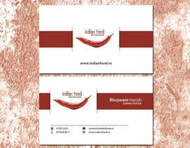 #31 for Design some Business Cards for www.indianfood.ro by aadizahid