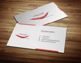#26 for Design some Business Cards for www.indianfood.ro by mehedi30