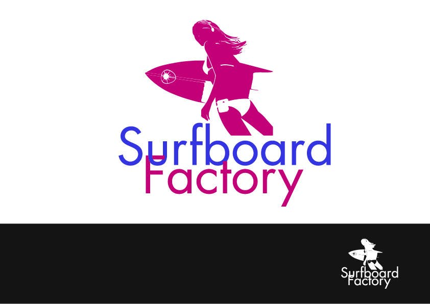 #79 for Design a Logo for Surfboard factory by KennyMcCorrnic