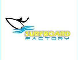 #86 for Design a Logo for Surfboard factory by sinke002e