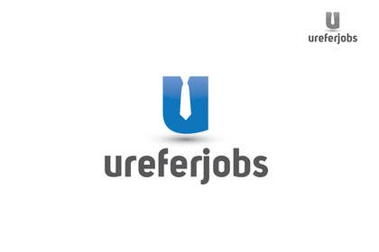 #7 untuk Logo design for ureferjobs.com. Help me. FLY CLOSER TO THE SUN. oleh iffikhan
