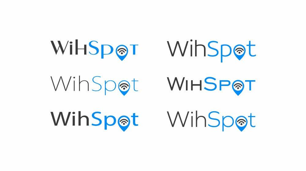 Bài tham dự cuộc thi #24 cho Design a Logo and create a graphic manual for WihSpot