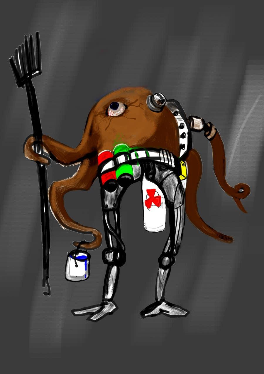 Kilpailutyö #24 kilpailussa Design 1 Sci-Fi Character Art