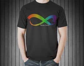 #19 untuk Design a T-Shirt for Colorful Infinity Sign oleh animatesuneel