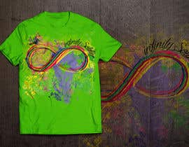 #25 untuk Design a T-Shirt for Colorful Infinity Sign oleh HomelessChicken