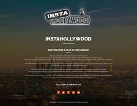 Nro 2 kilpailuun Design a 1 page website with movie theme in Wordpress käyttäjältä doubledude