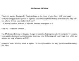 #9 for Content Writing for 1 page eBay advert - product called T5 Zlimmer by NunoASBSoares