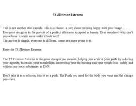Nro 9 kilpailuun Content Writing for 1 page eBay advert - product called T5 Zlimmer käyttäjältä NunoASBSoares