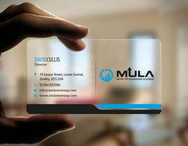 #17 para Design some Business Cards for MULA por logosuit
