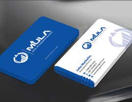 #37 para Design some Business Cards for MULA por mamun313