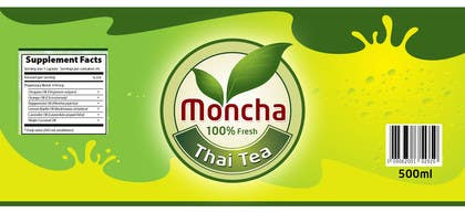 #15 for I need a design for Moncha tea brand af malg321
