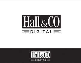#19 for Design a Logo for Hall & Co Digital by Vishuvijay21