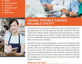 #3 cho Design a Brochure for my employment agency bởi ezesol