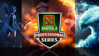 #29 for Design a Banner and logo for ES1 DOTA 2 Pro Series af nasser3mad