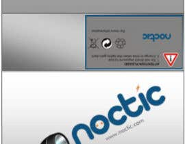 #13 para Create Print and Packaging Designs for Noctic Light (flashlight) por mukundrathi2905