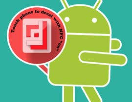 #1 cho Design a sticker with the android robot and my logo bởi camorim